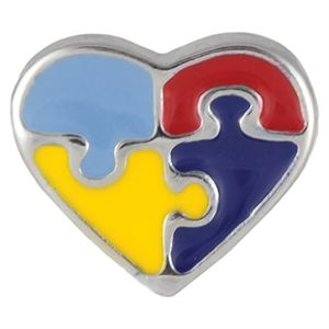 Picture of Autism Heart Charm